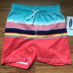 NWT Old Navy Toddler 18-24 Mo Boy's Swim Trunks